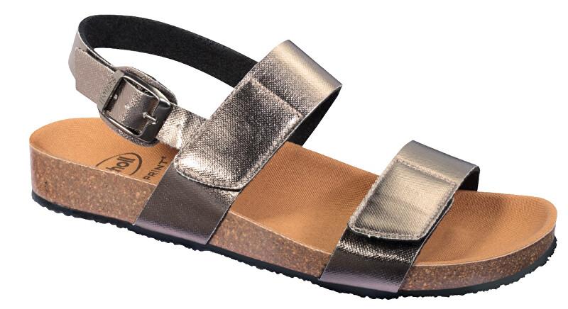 Zobrazit detail výrobku Scholl Zdravotní obuv - GREENY SANDAL - Pewter 42