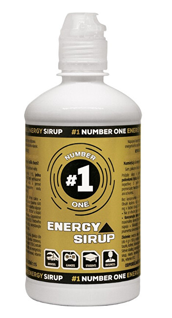 #1 Number One Energy Sirup 650 g