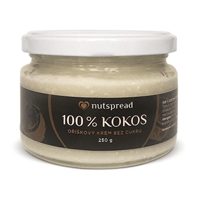 Nutspread 100% kokosové máslo Nutspread křupavé 250 g