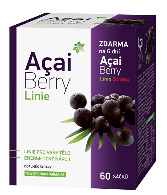 Zobrazit detail výrobku Biomedica Acai Berry Linie 60 sáčků + dárek Acai Berry Strong zdarma