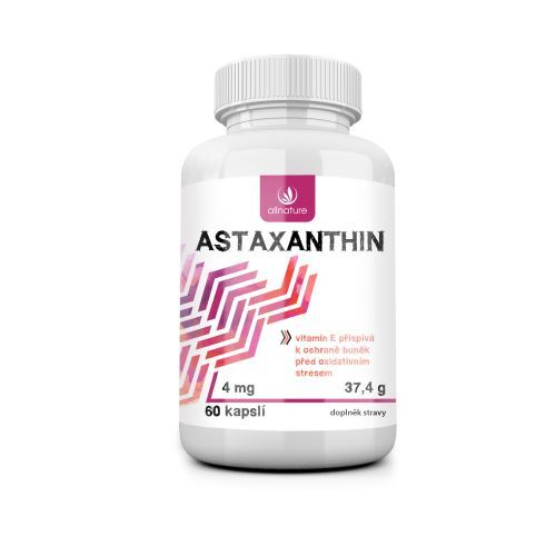Zobrazit detail výrobku Allnature Astaxanthin 60 tobolek