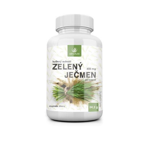 Zobrazit detail výrobku Allnature Zelený ječmen bylinný extrakt 60 tobolek
