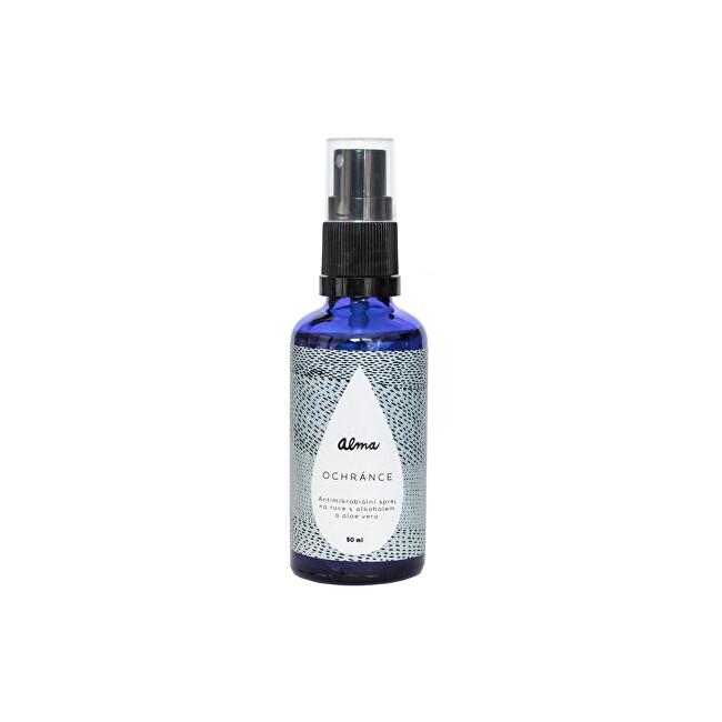 Zobrazit detail výrobku Alma-natural cosmetics Antimikrobiální sprej na ruce s alkoholem a aloe vera Ochránce 60 ml