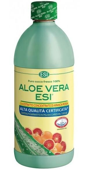 Zobrazit detail výrobku ESI Aloe Vera ESI - šťáva s červeným pomerančem, 1 l