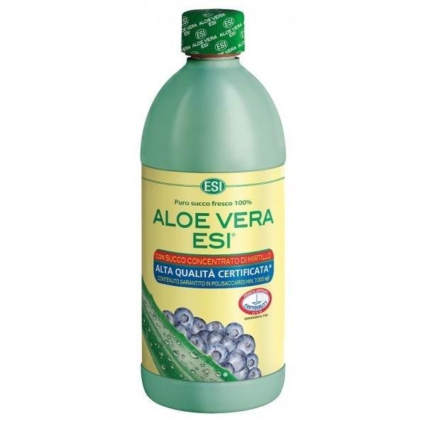 Zobrazit detail výrobku ESI Aloe Vera šťava s borůvkami, 1 l