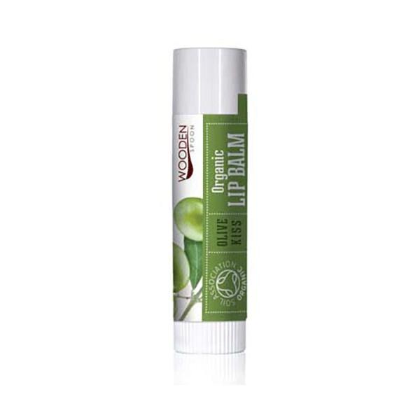 Zobrazit detail výrobku WoodenSpoon Balzám na rty Olivový polibek WoodenSpoon 4,3 ml