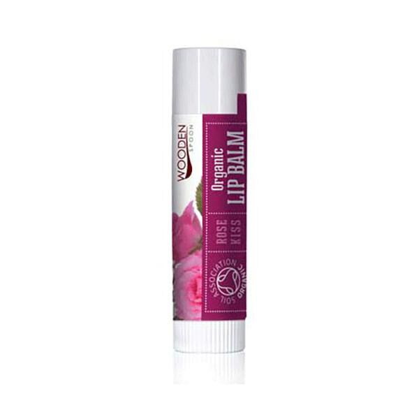 Zobrazit detail výrobku WoodenSpoon Balzám na rty Polibek růže WoodenSpoon 4,3 ml