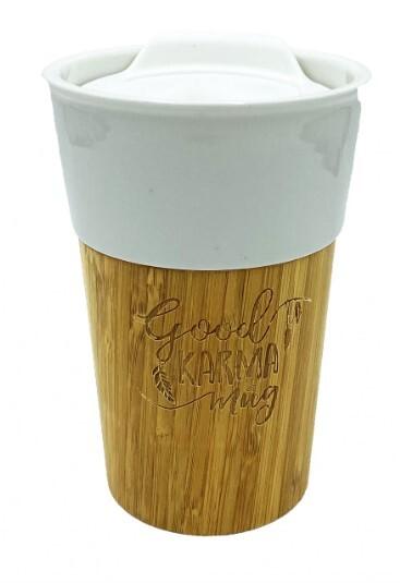 Zobrazit detail výrobku Goodie Bambusový hrnek - Good karma mug 330 ml