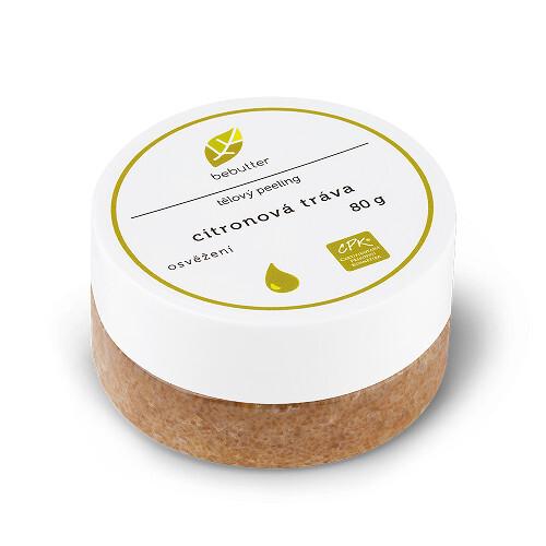 Bebutter Bebutter Tělový peeling citronová tráva 80 g