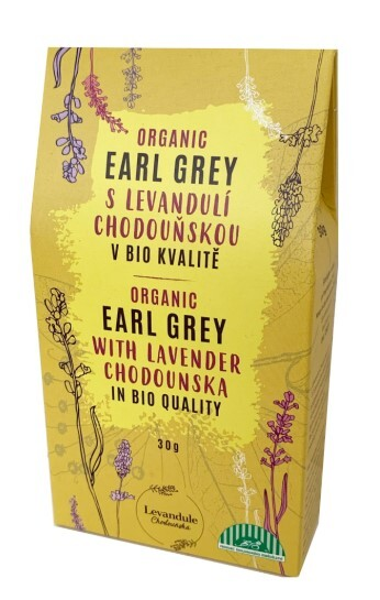 Zobrazit detail výrobku Levandulové Údolí Earl grey s levandulí Chodouňskou BIO 30 g