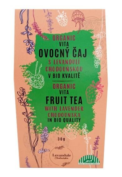 Zobrazit detail výrobku Levandulové Údolí Ovocný čaj Vita s levandulí Chodouňskou BIO 30 g