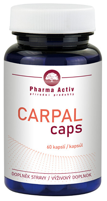 Zobrazit detail výrobku Pharma Activ Carpal caps 60 kapslí