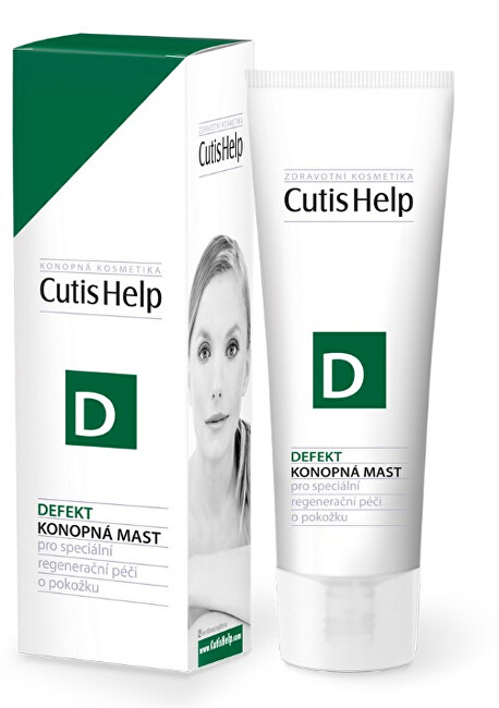 Zobrazit detail výrobku CutisHelp DEFEKT konopná mast 50 ml
