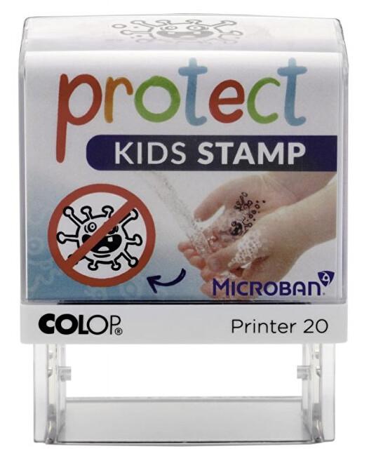 Zobrazit detail výrobku COLOP Dětské razítko PROTECT KIDS - STOP CORONA