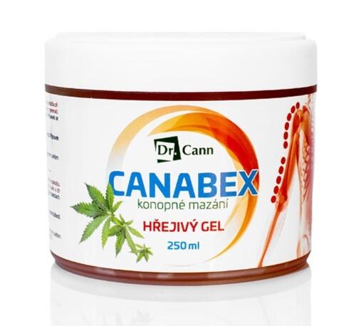 Zobrazit detail výrobku CutisHelp Dr Cann CANABEX™ konopné mazání - hřejivý gel 250 ml