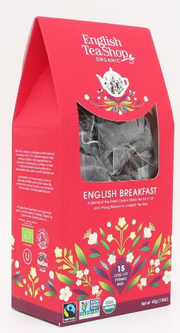 English Tea Shop English breakfast 15 sáčků