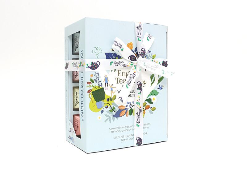 Zobrazit detail výrobku English Tea Shop 12 pyramidek sypaných čajů Wellness, bio