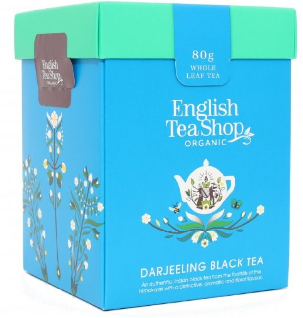 English Tea Shop Čierny čaj Darjeeling sypaný bio 80 g
