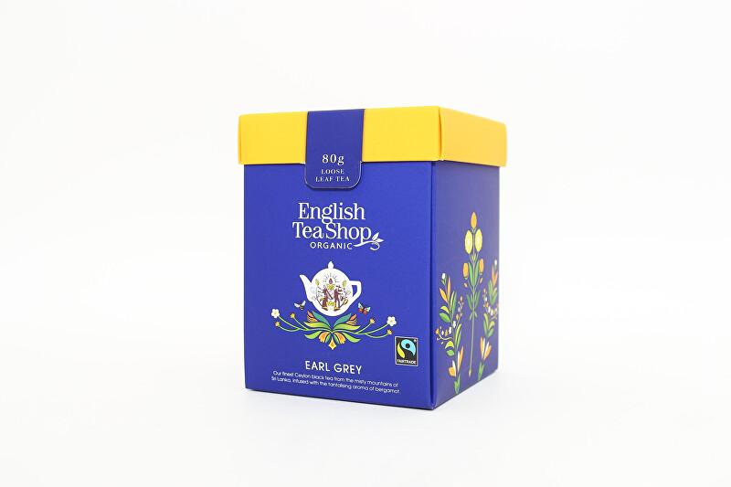 English Tea Shop Earl Grey sypaný čaj bio a fairtrade