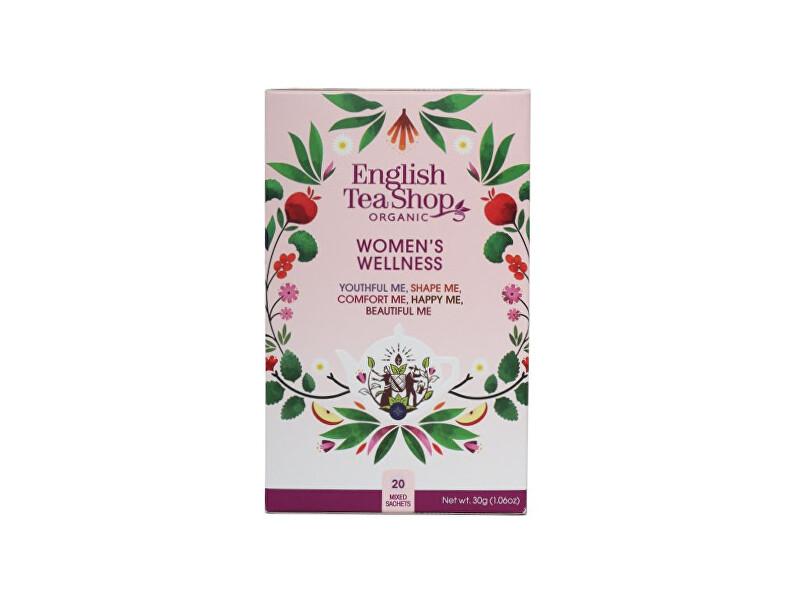 Zobrazit detail výrobku English Tea Shop Sáčků MIX Dámský Wellness, bio