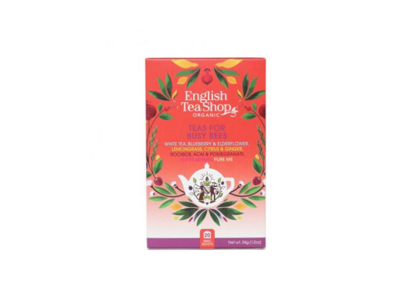 Zobrazit detail výrobku English Tea Shop MIX Pro pilné včelky, BIO, 20 sáčků