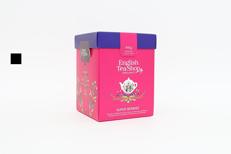 Zobrazit detail výrobku English Tea Shop Super Ovocný sypaný čaj bio 80 g