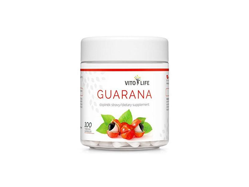 Zobrazit detail výrobku Vito life Guarana 400 mg (12 % kofeinu), 100 tobolek