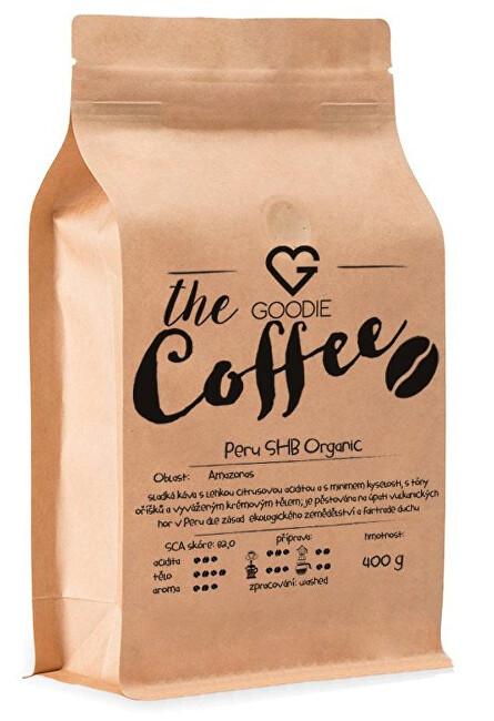 Zobrazit detail výrobku Goodie Káva - Peru SHB Organic 400 g