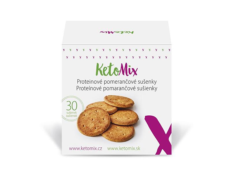 Zobrazit detail výrobku KetoMix Proteinové pomerančové sušenky (30 sušenek)