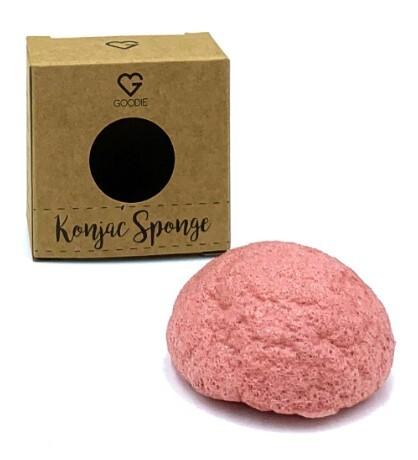 Zobrazit detail výrobku Goodie Konjac houbička - Růžový jíl
