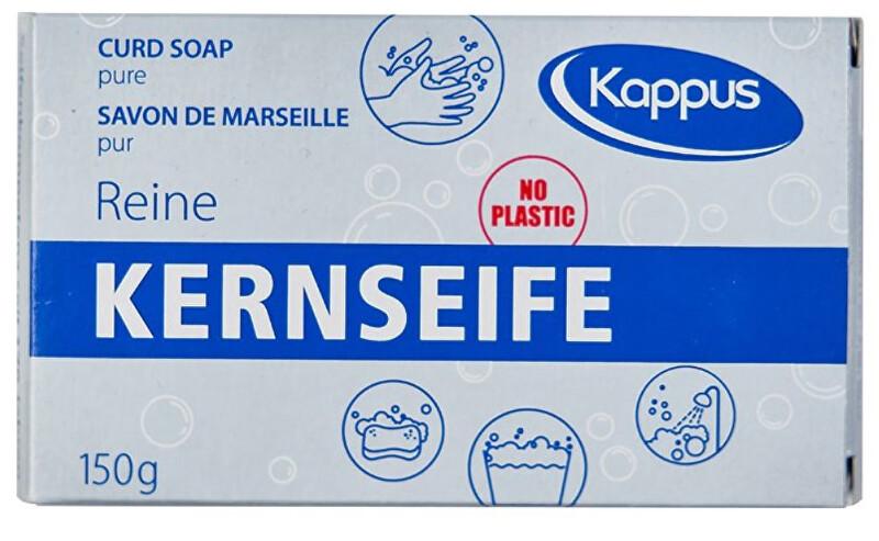 Kappus Kúpeľové Čisté tvrdé mydlo v krabičke - biele 150 g