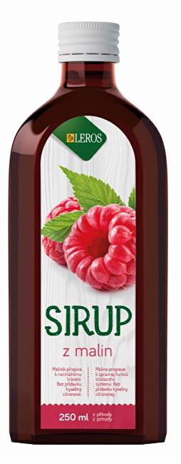 Zobrazit detail výrobku LEROS Sirup Malina 250 ml