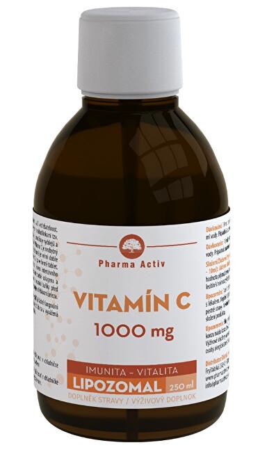 Zobrazit detail výrobku Pharma Activ LIPOZOMAL Vitamín C 1000 mg 250 ml