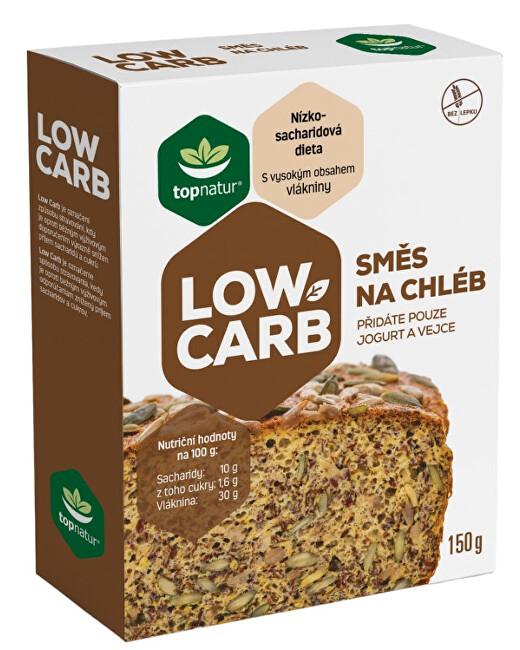 Zobrazit detail výrobku Topnatur Low Carb Směs na chléb 150 g - SLEVA - pomačkaná krabička