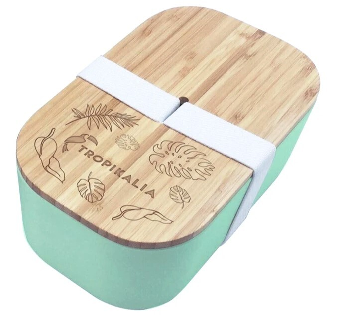 Zobrazit detail výrobku Tropikalia Lunch Box L - mintová barva