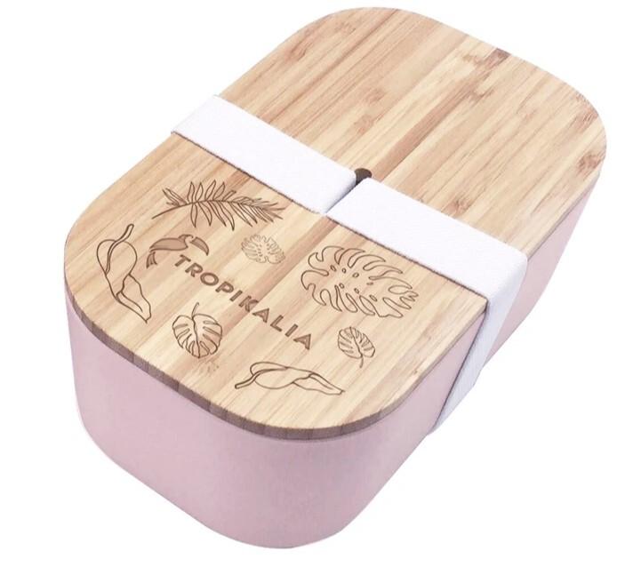 Zobrazit detail výrobku Tropikalia Lunch Box L - růžová barva