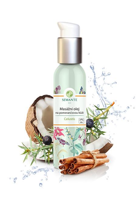Semante by Naturalis Masážní olej na pomerančovou kůži