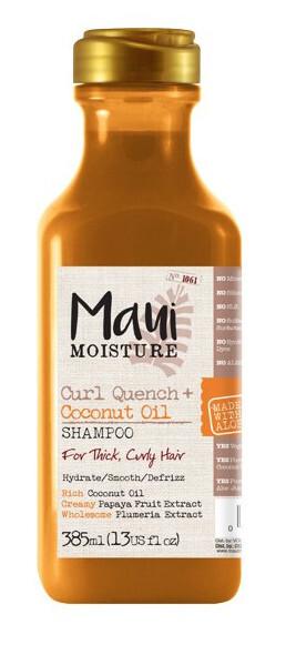 Zobrazit detail výrobku MAUI MAUI šampon pro husté kudrnaté vlasy s kokosovým olejem 385 ml