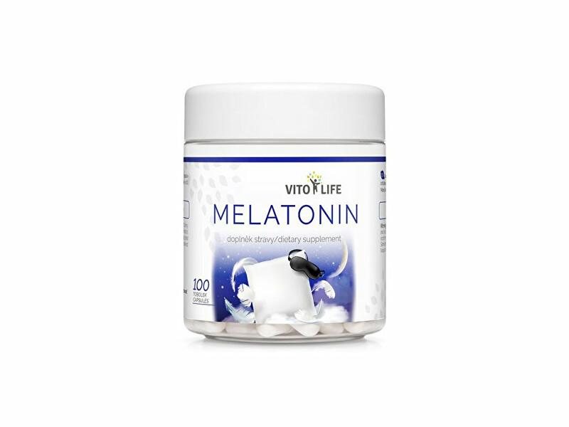 Zobrazit detail výrobku Vito life Melatonin, 100 tobolek