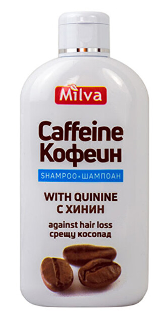 Milva Milva Šampón chinín a kofeín 200 ml