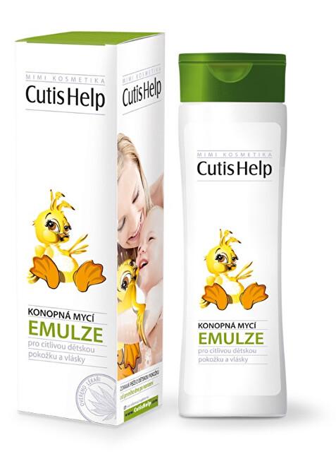 Zobrazit detail výrobku CutisHelp Mimi konopná mycí emulze 200 ml