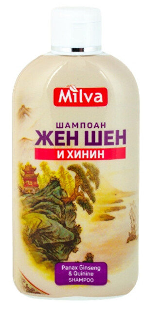 Zobrazit detail výrobku Milva Šampon na vlasy ženšen a chinin 200 ml Milva