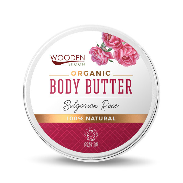 Zobrazit detail výrobku WoodenSpoon tělové máslo Bulharská růže 100 ml