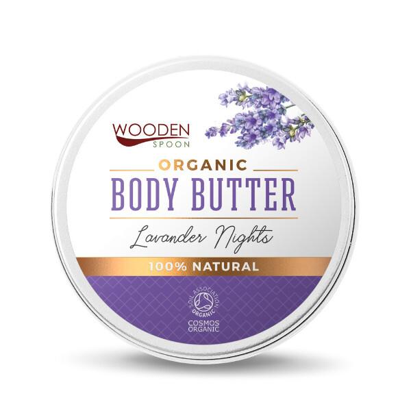 Zobrazit detail výrobku WoodenSpoon Tělové máslo Levandulové noci WoodenSpoon 100 ml