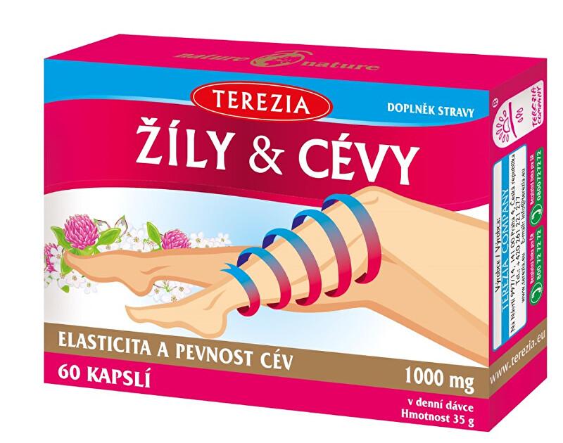 Zobrazit detail výrobku Terezia Company Terezia žíly & cévy 60 tablet