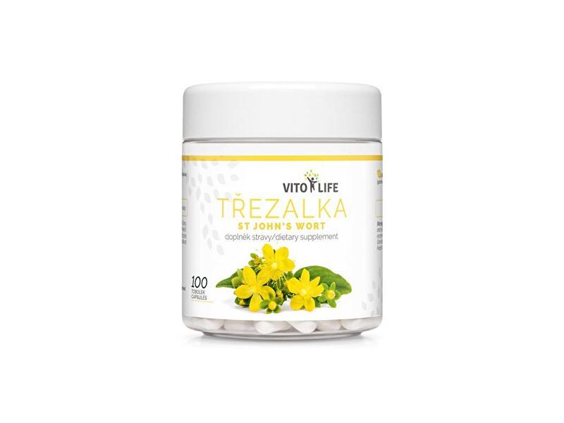 Zobrazit detail výrobku Vito life Třezalka tečkovaná 400 mg, 100 tobolek