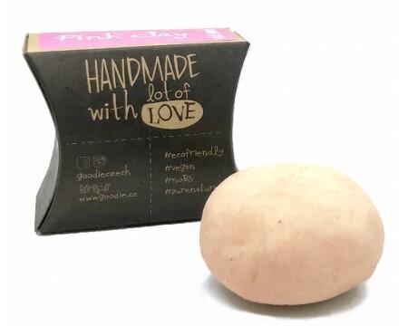 Zobrazit detail výrobku Goodie Tuhý šampon Pink Clay 45 g