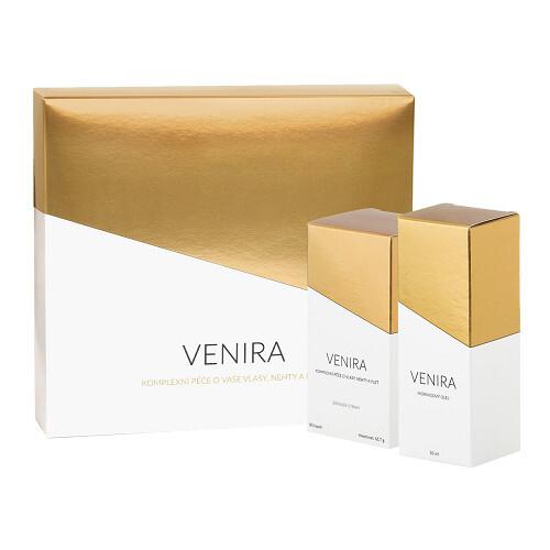 Zobrazit detail výrobku Venira VENIRA dárkový set - 40 denní kúra 80 kapslí a Moringový olej 50 ml