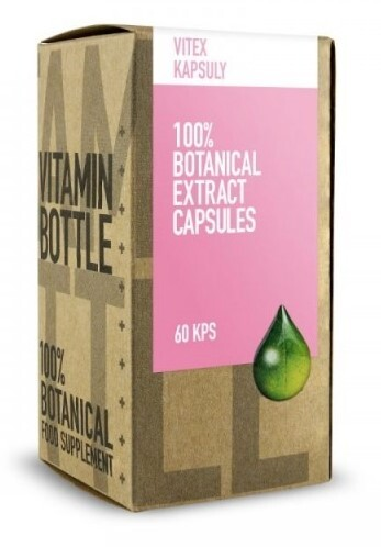 Zobrazit detail výrobku Vitamin Bottle Vitex Agnus-Castus, 60 kapslí