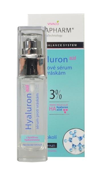 Vivapharm Hyalurónovej liftingové sérum proti vráskam 30 ml